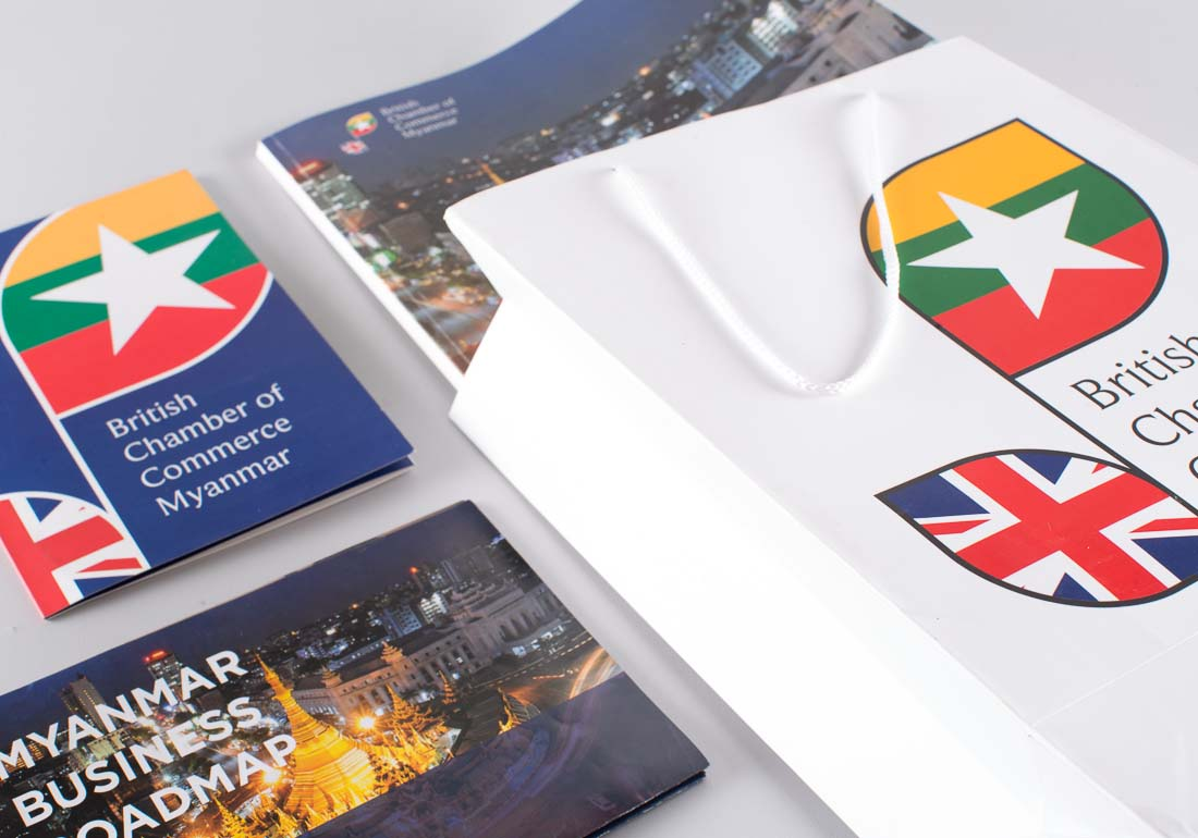 British Chamber of Commerce brochure all collateral