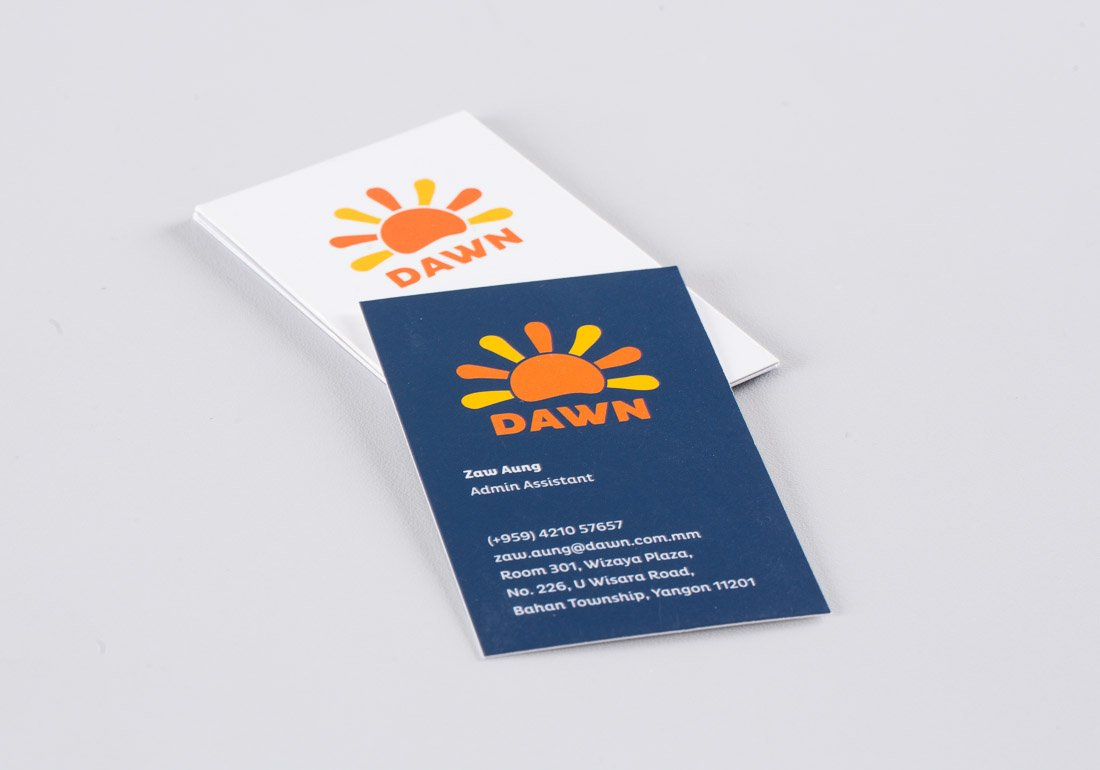 Dawn business cards