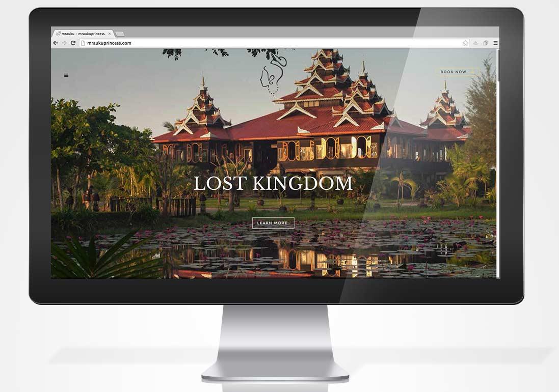 Mrauk U Princess web page