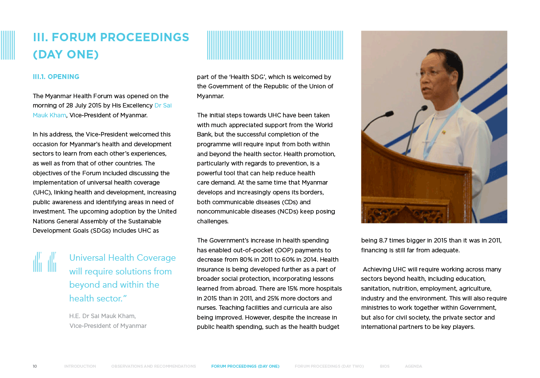 UNAIDS forum report
