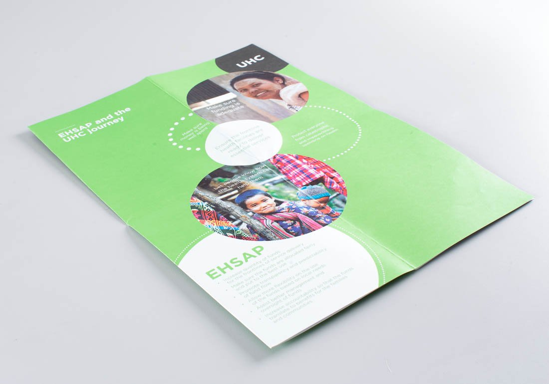 World Bank Essential Health Services Access Project brochure