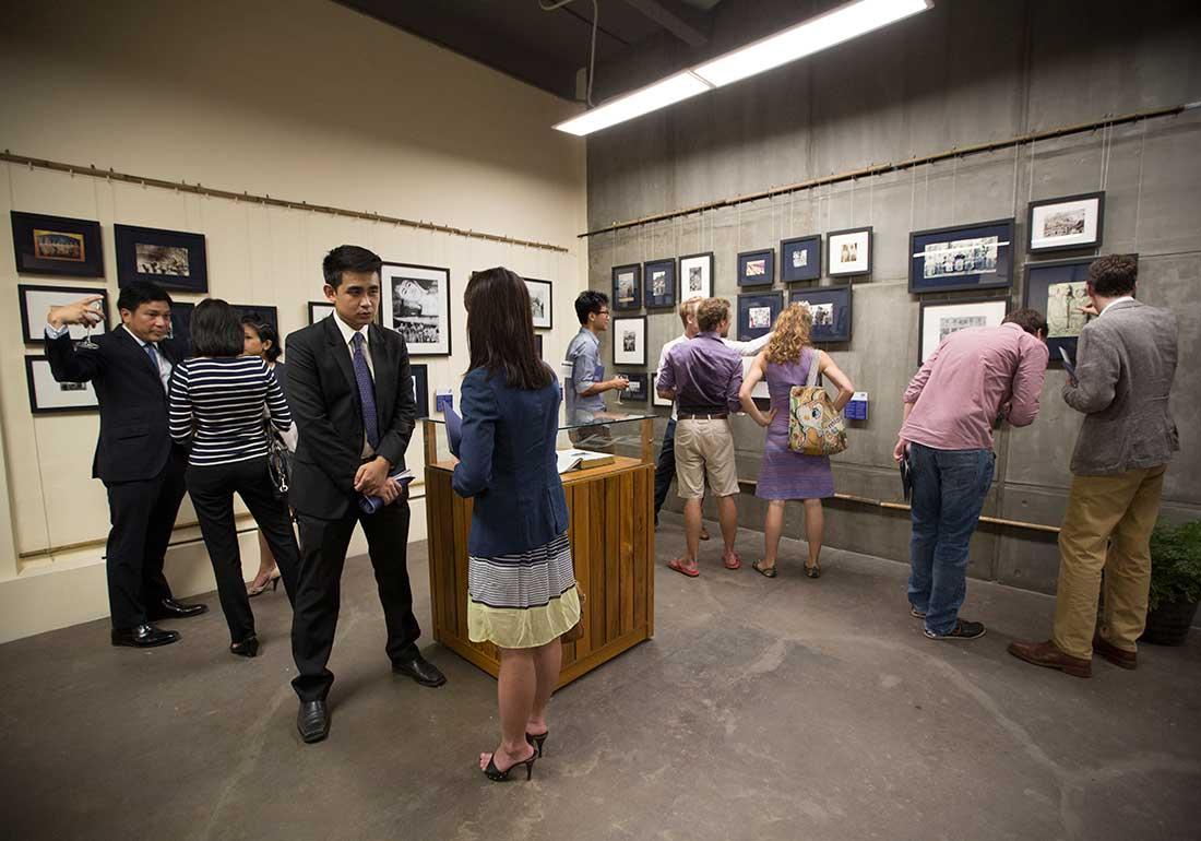 Yangon Heritage Trust Exhibit